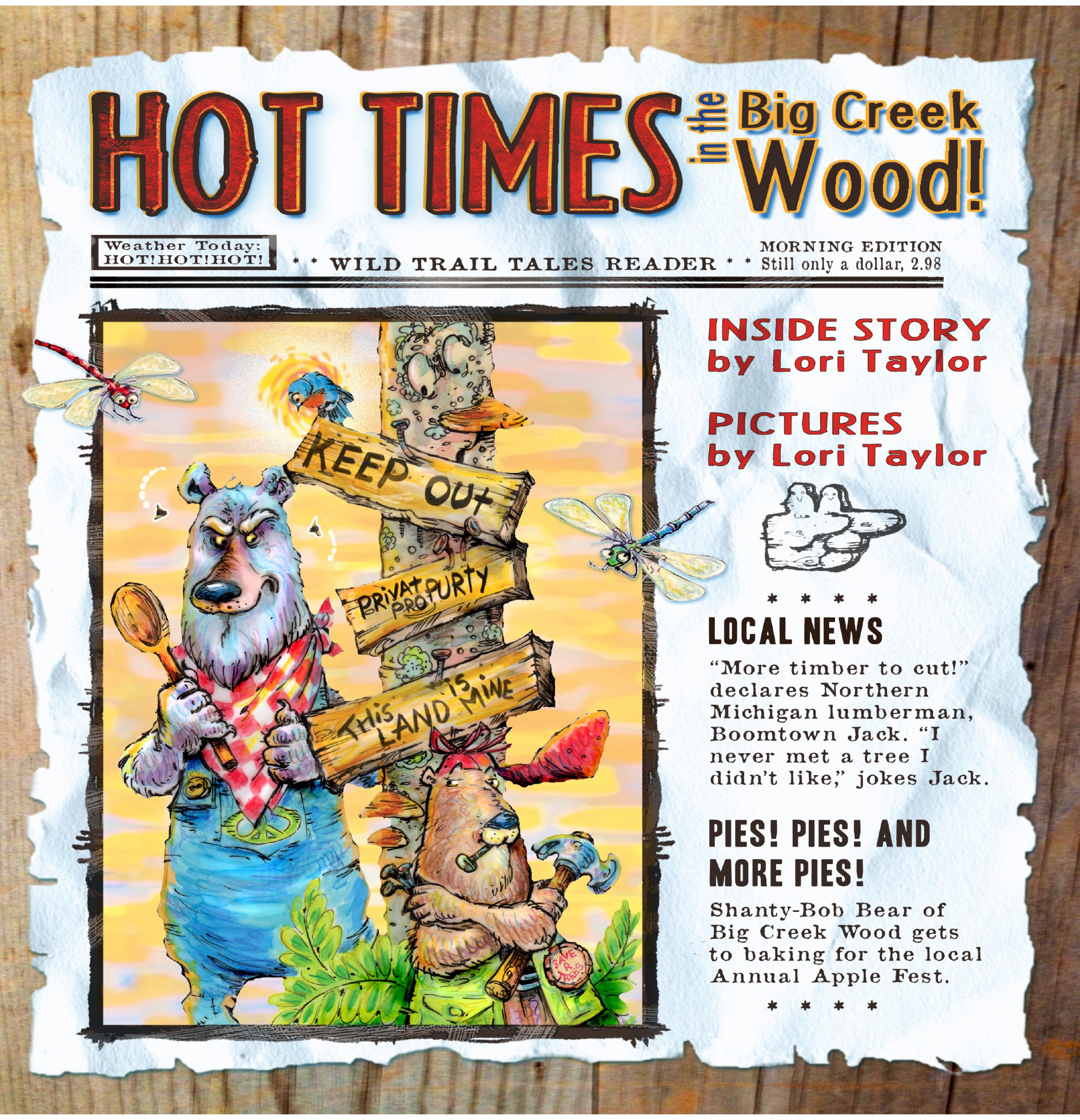 Hot Times Cover